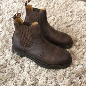 BRAND NEW DR MARTENS CHELSEA CRAZY HORSE BOOTS